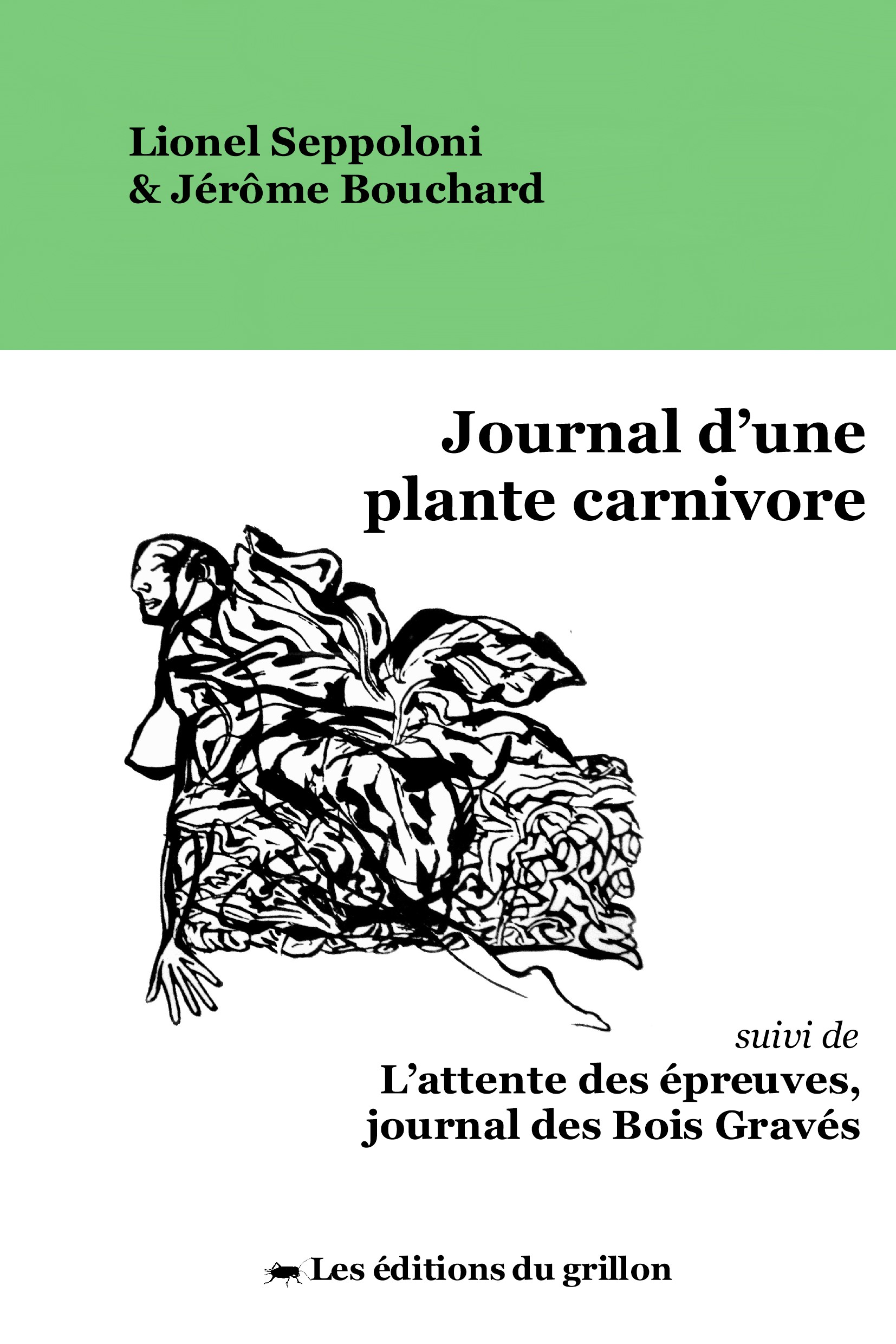 Couverture ebook Journal dune plante carnivore